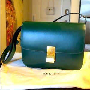 Celine box amazon green